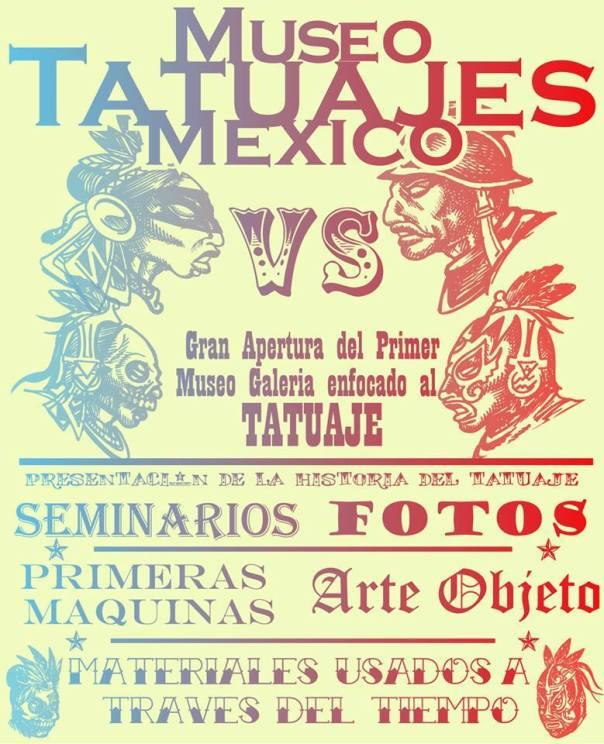 Foto: Página Oficial de Facebook Museo de Tatuaje Mexicano